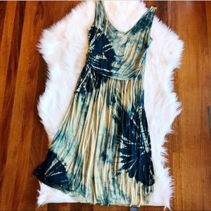 SALE{Vanessa Virginia} Anthropologie Tie Dye Dress